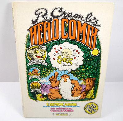 R. CRUMB'S Head Comix - 1. Deutsche Ausgabe Comic HC ZWEITAUSENDEINS (B3)