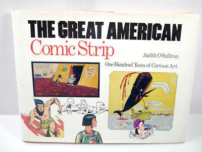 THE GREAT AMERICAN COMIC STRIP One Hundred Years of Cartoon Art Buch HC (B3)