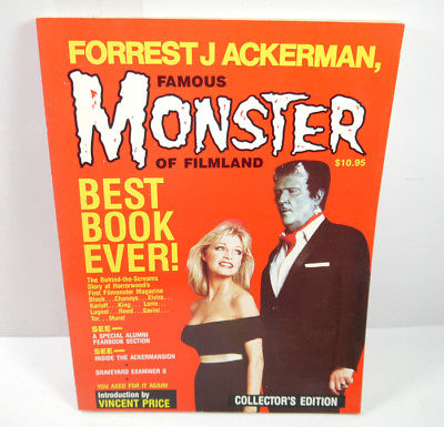 FAMOUS MONSTER OF FILMLAND Collector's Edition Buch SC Ackerman englisch (B3)