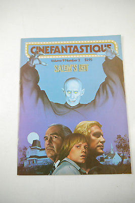Cinefantastique Film Magazin Salem´s Lot  Vol. 9  Nr. 2    Z: sehr gut (WR6)