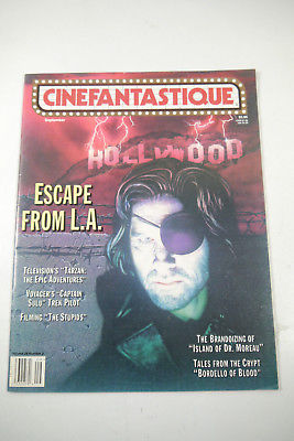 Cinefantastique Film Magazin Kurt Russel Vol.28  Nr.2 1996 Z: sehr  gut (WR6)