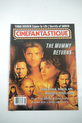 Cinefantastique Film Magazin The Mummy  Vol.33 Nr.3 2001 Z : sehr  gut (WR6)