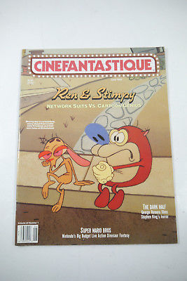 Cinefantastique Film Magazin Ren & Stimpy  Vol.24 Nr.1 1993 Z : sehr gut (WR6)