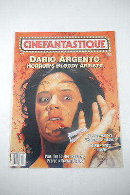 Cinefantastique Film Magazin Dario Argento Vol.27  Nr.8 1996 Z : sehr  gut (WR6)
