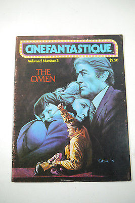 Cinefantastique Film Magazin The Omen Gregory Peck Vol.5  Nr.3  Z :  gut (WR6)