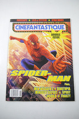 Cinefantastique Film Magazin  Spiderman Vol. 34 Nr.3/ 4  2002 Z : sehr gut (WR6)
