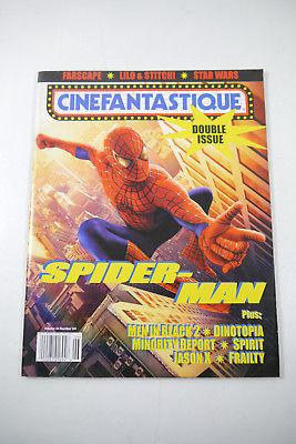 Cinefantastique Film Magazin  Spiderman Vol. 34 Nr.3/ 4  2002 Z : sehr gut (WR6)