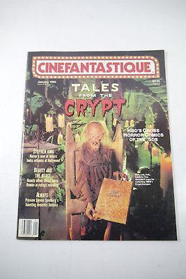 Cinefantastique Film Magazin Tales Crypt  Vol.20 Nr. 3 1990  Z : sehr gut  (WR6)