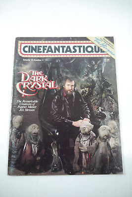 Cinefantastique Film  Magazin The Dark Crystal Vol.13 Nr. 4   Z :  gut  (WR6)
