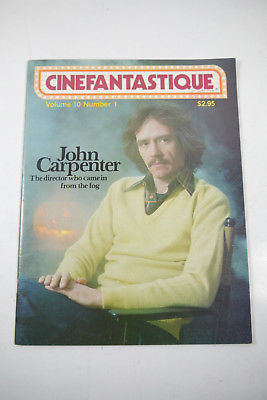 Cinefantastique Film Magazin  John Carpenter Volume 10 Nr. 1 Z : sehr gut (WR6)