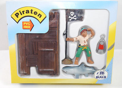BULLYLAND Piraten - 56113 Schiffbrüchig Figuren Set MADE IN GERMANY Bully (WR4)