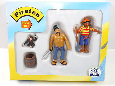 BULLYLAND Piraten - 56112 Abenteuer Set mit 3 Figuren MADE IN GERMANY Bully *WR4