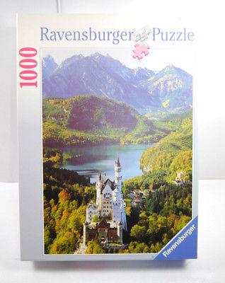 Ravensburger Puzzle 157631 Königschloß Neuschwanstein 1000 Teile KOMPLETT #E MF8
