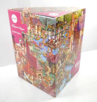 Heye Puzzle Nr. 29496 Francois Ruyer Bunnytown 1000 Teile KOMPLETT # I (MF8)