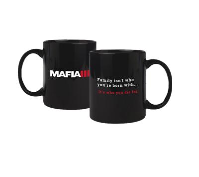 MAFIA III 3 - Tasse Kaffeebecher Mug mit Logo 2K GAYA Neu (L)