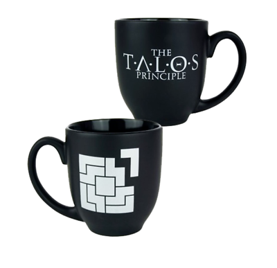 THE TALOS PRINCIPLE - XXL Tasse Kaffeebecher Mug PUZZLE LOGO Gaya Neu (L)