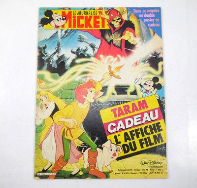 LE JOURNAL DE MICKEY décembre Dezember 1985 Micky Maus Magazin Comic DISNEY *WRZ