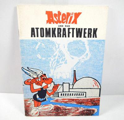ASTERIX und das Atomkraftwerk 1.Ausgabe kleines Comic Heft (WRZ)