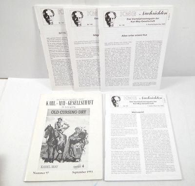 KMG - NACHRICHTEN Heft 97 147 148 149 150 KARL MAY GESELLSCHAFT Mitteilung (WRZ)