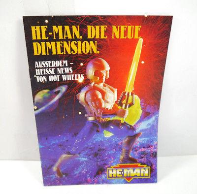 HE-MAN Die neue Dimension Romanheft Heft MASTERS OF THE UNIVERSE Mattel (WRZ)