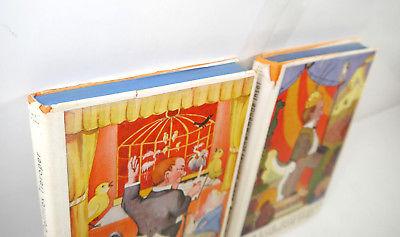 DOKTOR DOLITTLES 2 Bände Buch gebunden HUGH LOFTING Williams & Co. (WRZ) 1