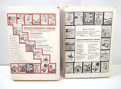 DOKTOR DOLITTLES 2 Bände Buch gebunden HUGH LOFTING Williams & Co. (WRZ) 3