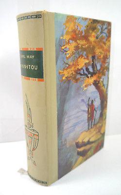 WINNETOU Buch Roman Gebunden KARL MAY Sonderausgabe DBG Berlin 1960 (WRZ) Z1