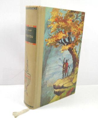 WINNETOU Buch Roman Gebunden KARL MAY Sonderausgabe DBG Berlin 1960 (WRY) Z2