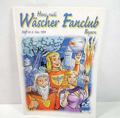 HANSRUDI WÄSCHER Fanclub Bayern - Heft 6 / Dezember 1999 Magazin (WRY)