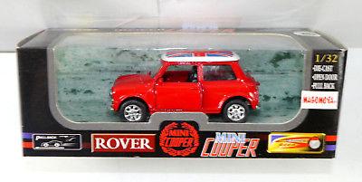 ROVER Mini Cooper Modellauto mit Rückziehfunktion union jack Magomora Neu (K7)
