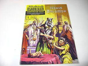 Illustrierte Klassiker Nr. 10 König Salomon  bsv  Z : Neu 9783944971476  (LR )