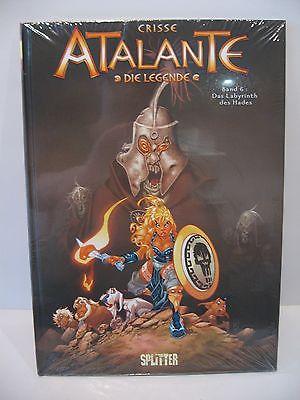 Atalante * Die Legende * # 6 * Das Labyrinth  / Splitter // HC //  Z: Neu  (L)