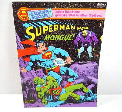 SUPERMAN Sonderausgabe Nr. 6 - Gegen Mongul Comic SC EHAPA (WR9)