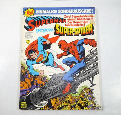 SUPERMAN gegen SUPER SPIDER-MAN Comic Sonderausgabe SC EHAPA (WR9)