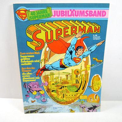 SUPERMAN Jubiläumsband 40 Jahre Comic SC EHAPA (WR9)