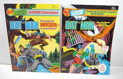 BATMAN Band 1 + 2 - Phantastische Abenteuer in neuen Welten Comic SC EHAPA (WR9)