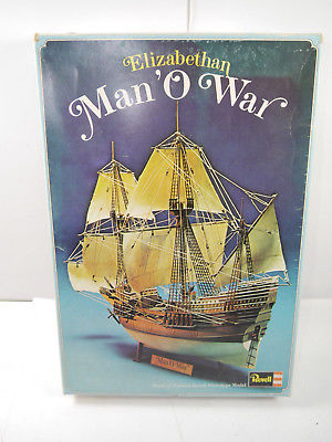 REVELL H-389 Elizabethan Man 'O War Segelschiff Plastik Modellbausatz 1:110 *F15