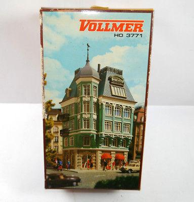 VOLLMER 3771 Bankhaus bank Gebäude Plastik Modellbausatz H0 (F29)