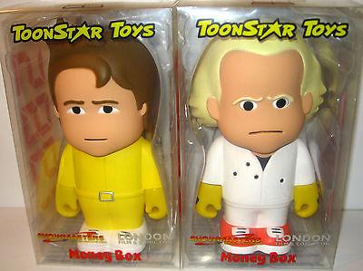 Zurück in die Zukunft 1985 Marty McFly & Dr. Brown Money Box TOONSTAR TOYS (L)