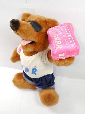 RADIO RPR Teddy Bär Plüschtier Stofftier Maskottchen Werbefigur ca.31cm (K75)