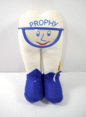 PROPHY Zahn Plüschtier Stofftier Maskottchen Werbefigur ca.18cm (K75)