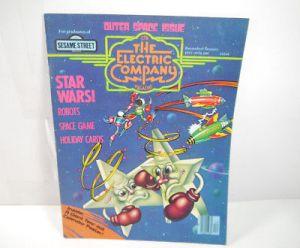 CTW THE ELECTRIC COMPANY 1977 / 1978 Magazine Zeitschrift Sesame Street (WR7)