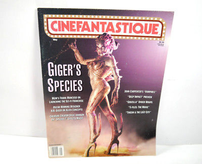 CINEFANTASTIQUE Vol. 30 Nr. 1 Film Magazin Zeitschrift SPECIES Godzilla (WR7)