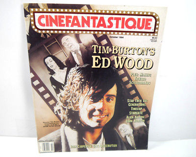 CINEFANTASTIQUE Vol. 25 Nr. 5 Film Magazin Zeitschrift TIM BURTON Alien (WR7)