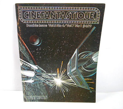 CINEFANTASTIQUE Vol. 6 & 7 / Nr. 4 & 1 Film Magazin Zeitschrift STAR WARS (WR7) 0
