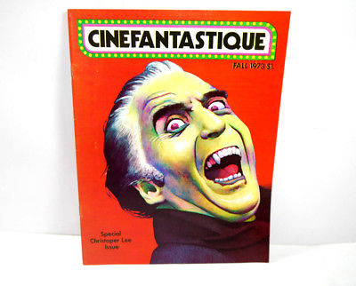 CINEFANTASTIQUE Vol. 3 Nr. 1 Film Magazin Zeitschrift CHRISTOPHER LEE (WR7)