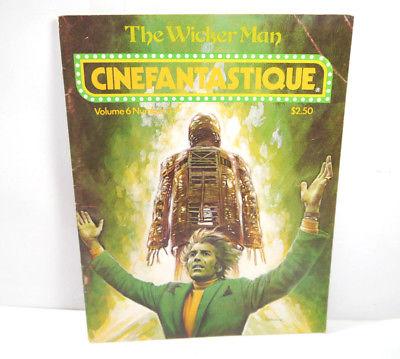 CINEFANTASTIQUE Vol. 6 Nr. 3 Film Magazin Zeitschrift WICKER MAN englisch (WR7)