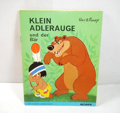Disney KLEIN ADLERAUGE UND DER BÄR Kinderbuch SC HAPPY Delphin Verlag (WR3)