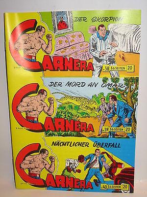 CARNERA Piccolo Nr. 38, 39, 40 UNGESCHNITTEN / Hethke Comics (L)
