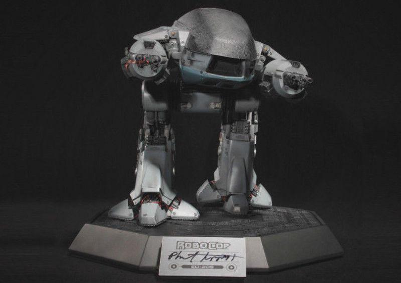 ROBOCOP ED-209 Figur TIPPETT STUDIO Chronicle Legacy Series - mit OVP (F2)